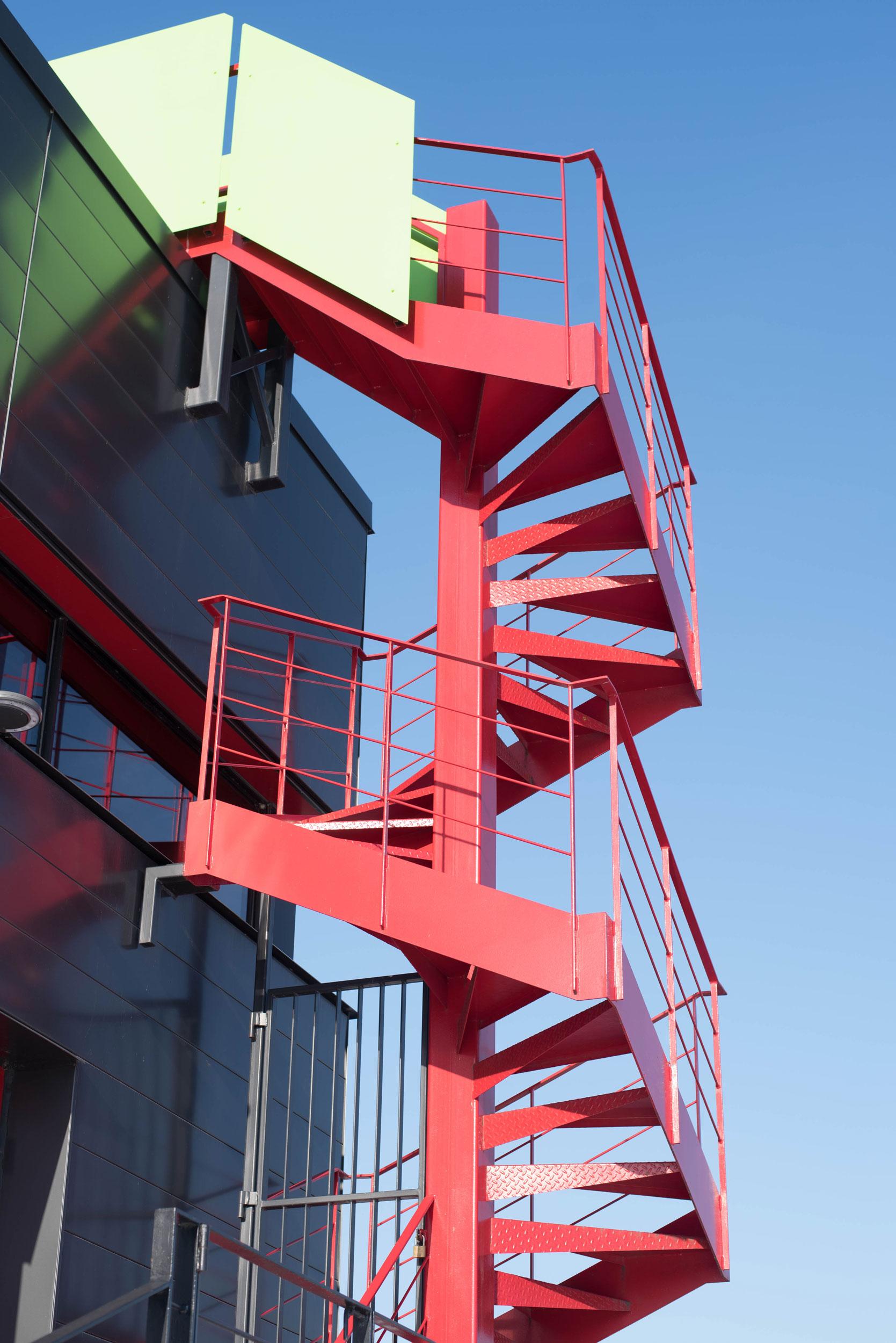 Escalier du projet de la Brasserie McAuslan   Soudure René Thibault