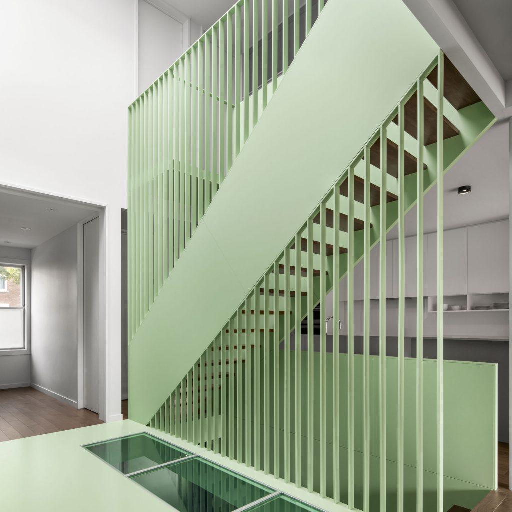 Escalier de la résidence Victoria   Soudure René Thibault